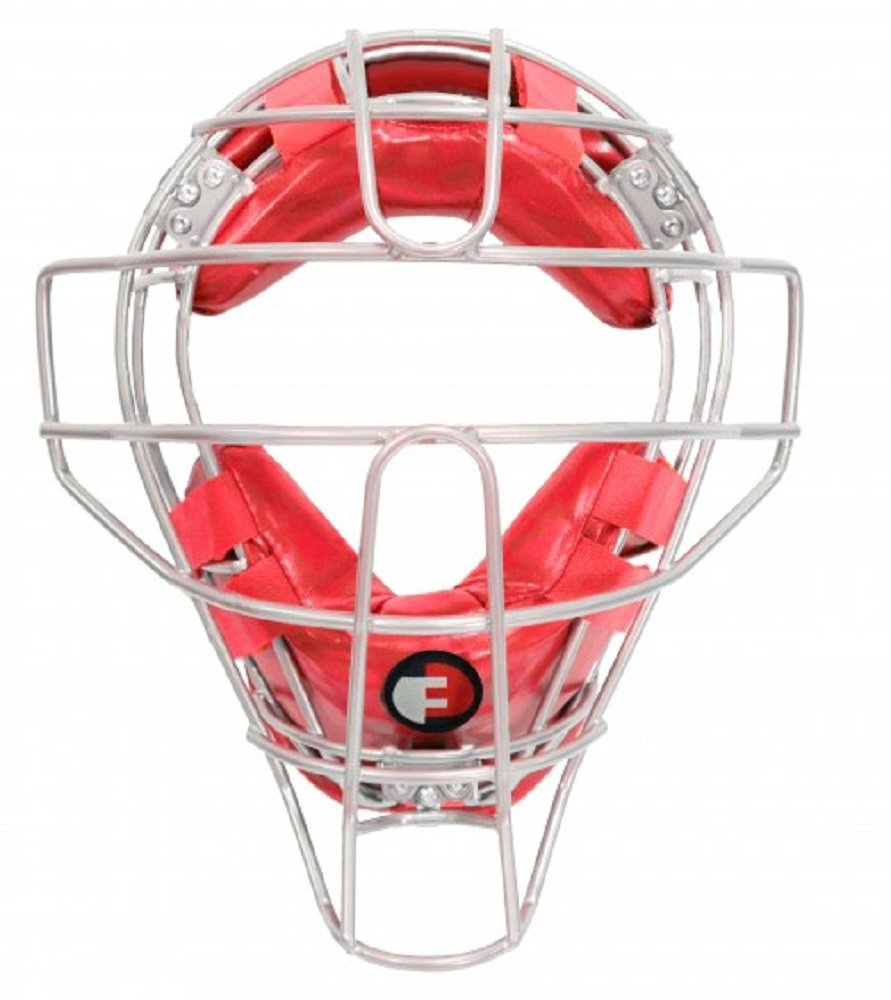 Force3 Pro Gear Defender Mask (Silver/Red)