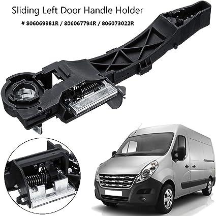 CFHMLK Soporte de manija de Puerta corredera Lateral Izquierda, para Opel, para Vauxhall Movano, para Renault Master: Amazon.es: Coche y moto