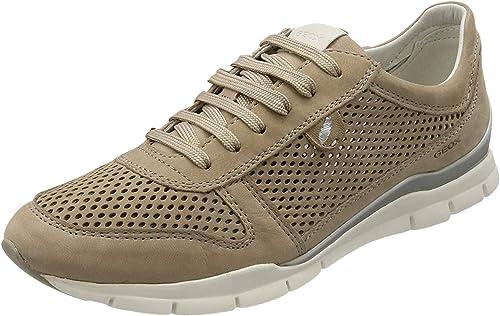 empleo Aumentar Oblea  Geox Women's D Sukie F Sneaker: Amazon.co.uk: Shoes & Bags