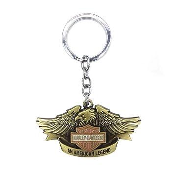 Llavero Accesorios de motociclista escudo Harley Davidson ...