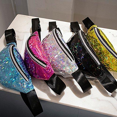 Giorno Multicolore Poschette Blue Handbag Donna Cwemimifa wxqYBvHn