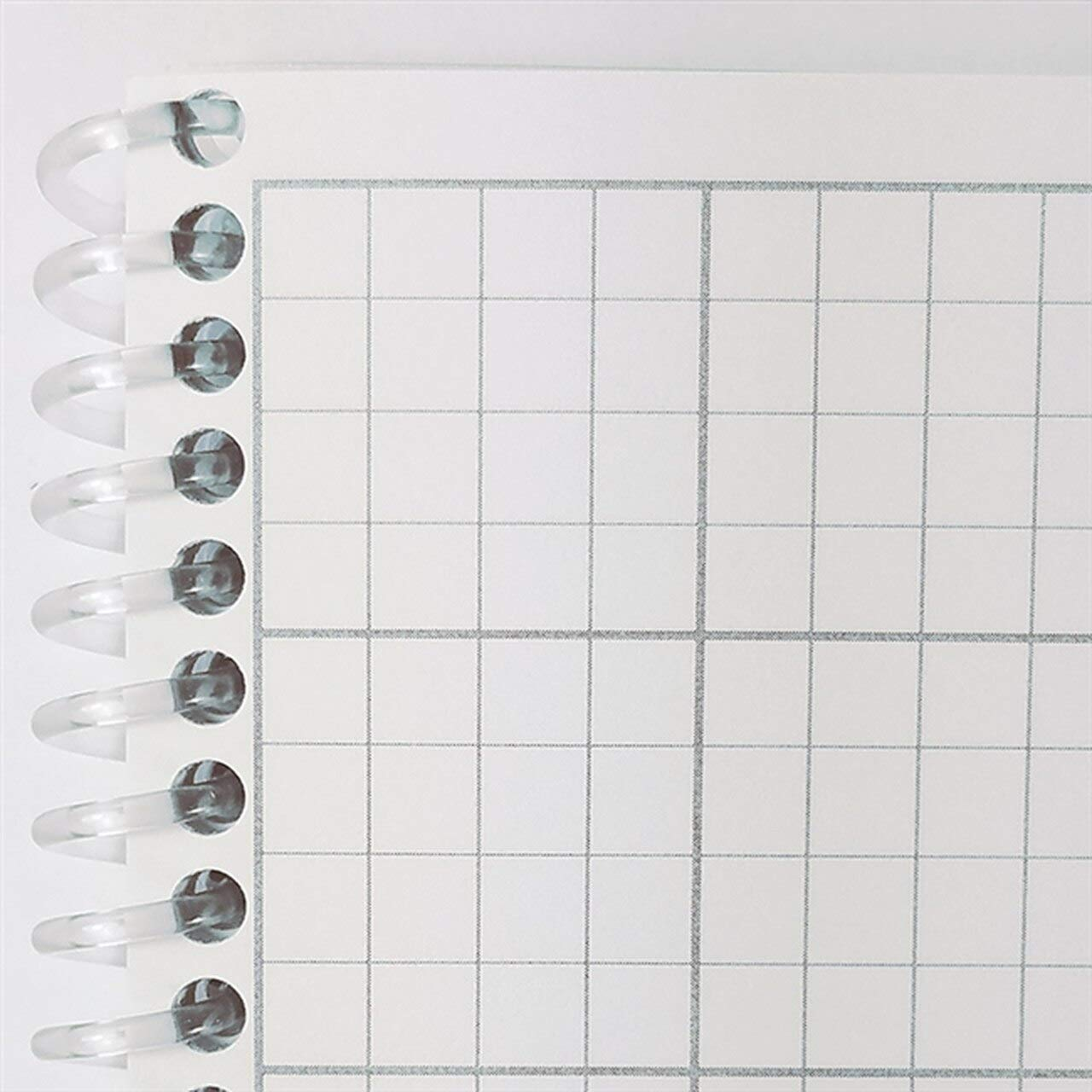 Side Spiral Latex-Free Engineering Grid 5.5 x 8.5 100 Pages Cleanroom Notebook