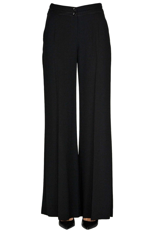 Patrizia Pepe Women's MCGLPNC000005022E Black Viscose Pants