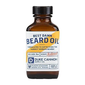 Duke Cannon Best Beard Oil, 3 Ounce