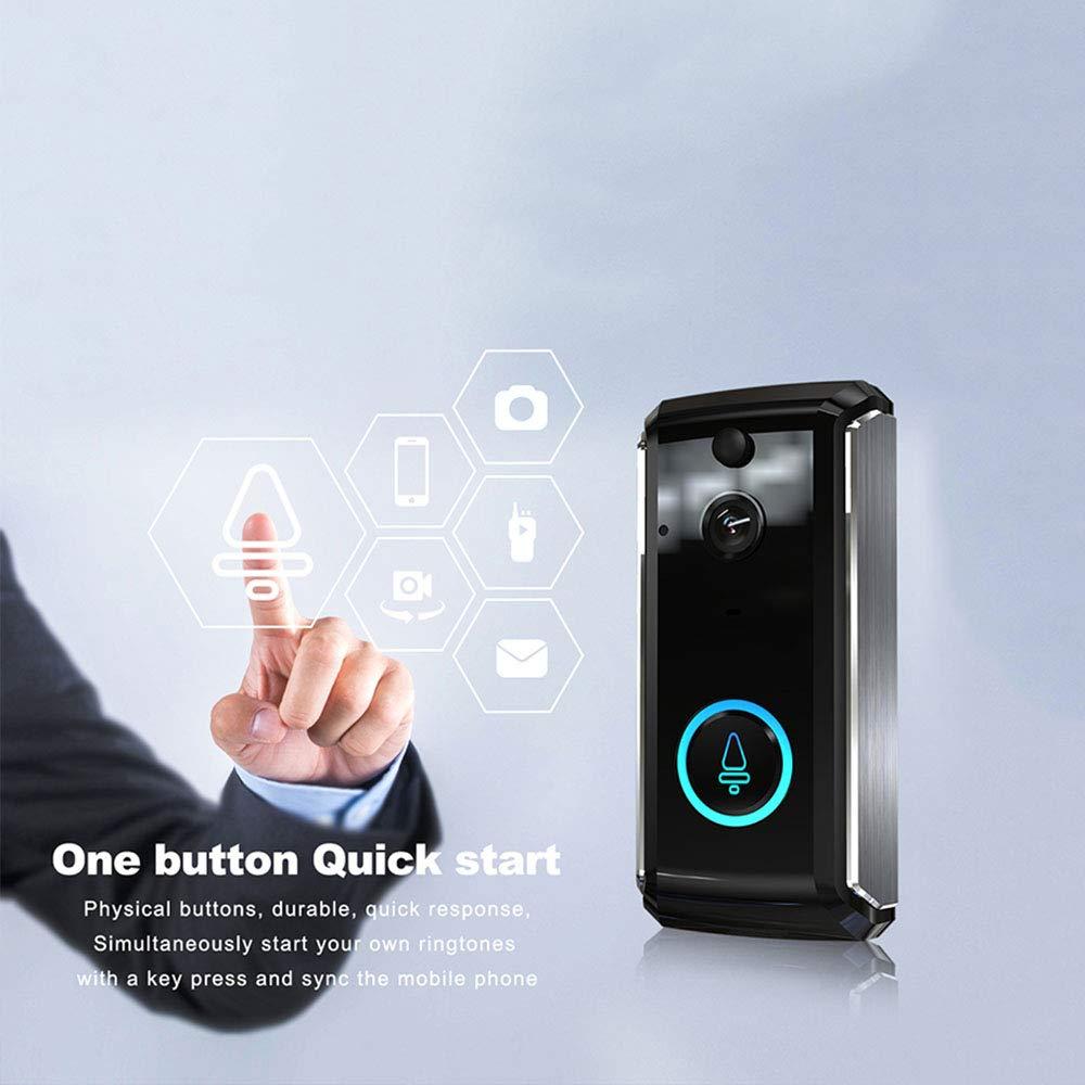 COL PETTI Zwei-Wege-Audio-Sprechanlage 720P 32G PIR Smart WiFi Wireless Doorbell Video-Tür-Telefon Mit Nachtsicht