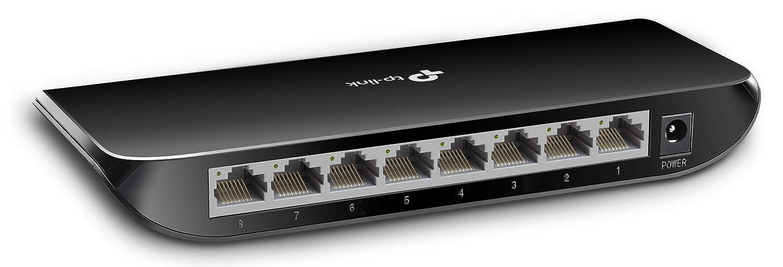 TP-LINK TL-SG1008D 10/100/1000Mbps 8-Port Gigabit Desktop Switch