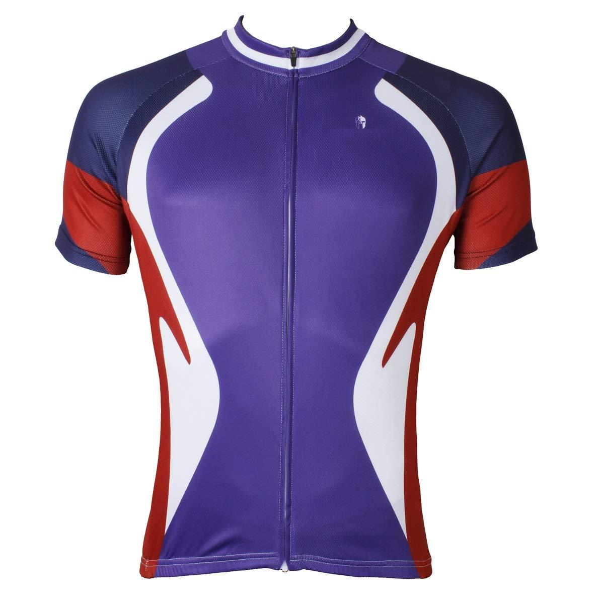 Bike Jersey Outdoor Herren Professionelle Reitbekleidung Sommer Ultradünn Atmungsaktiv Winddicht Fahrradtrikot LPLHJD