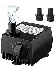 SeeKool Mini Bomba de Agua Ultra Silencioso 300L/H Submersible Pump 3W Circulation Pump con
