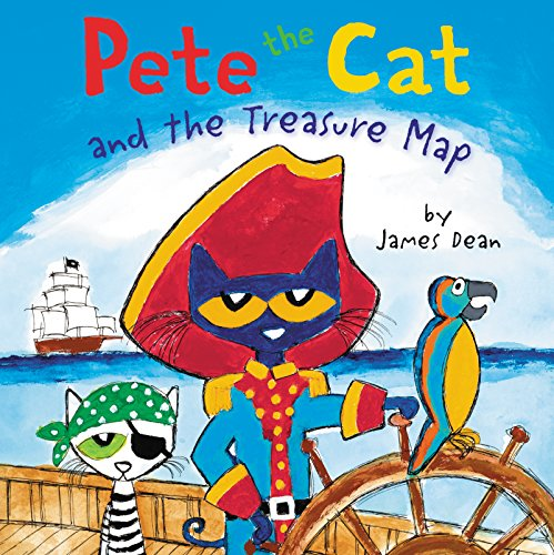 Pete the Cat and the Treasure Map -