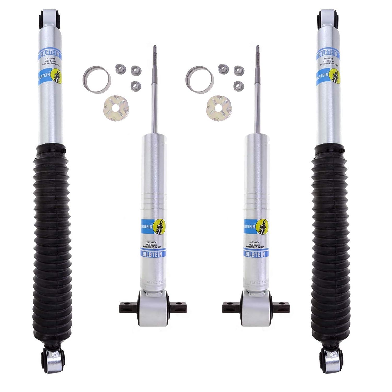 Bilstein 5100 Monotube Gas Shock Set 2014-2015 Chvrolet Silverado 1500 4WD