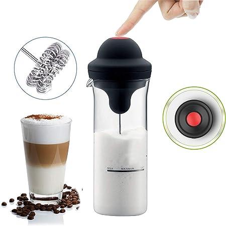 Frullatore Montalatte Schiumalatte Cappuccinatore Cappuccino Shaker Caffe Casa