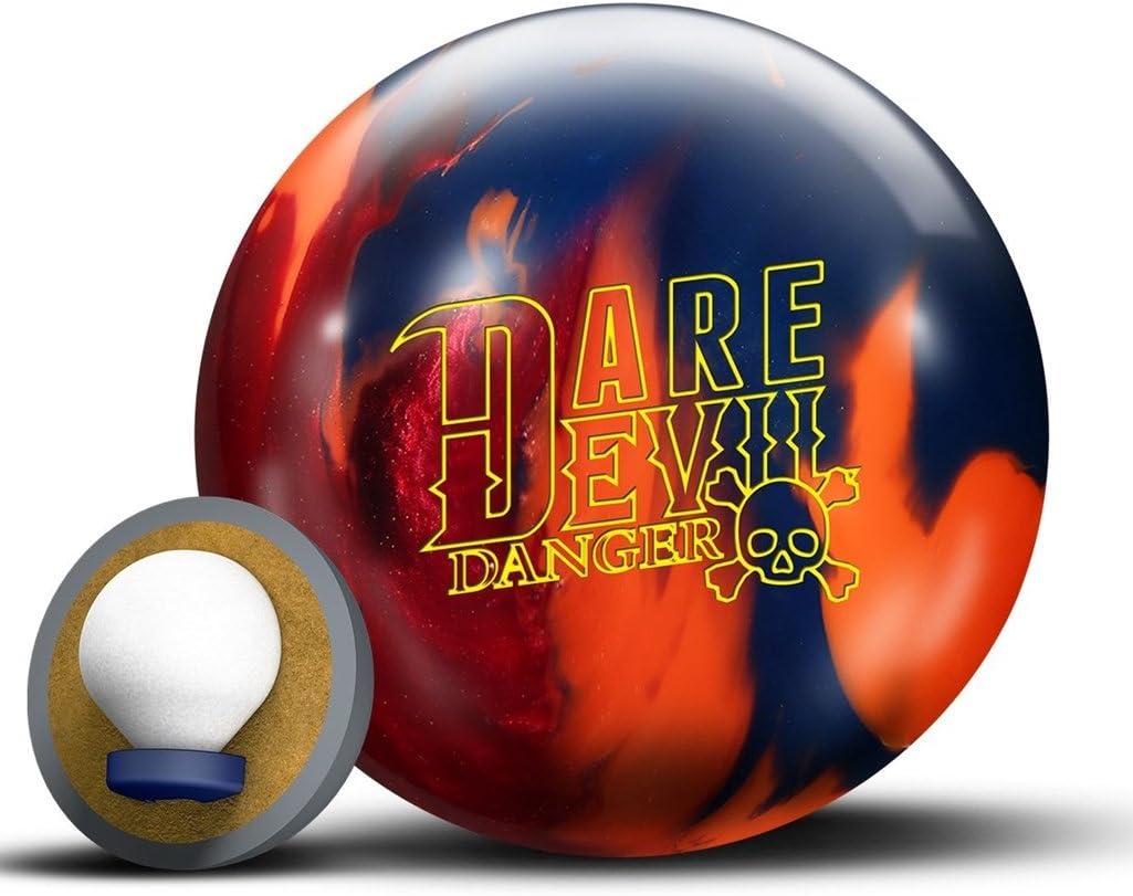 RotoグリップDare Devil Danger Bowling ball-レッド/オレンジ/ブルー  13lbs