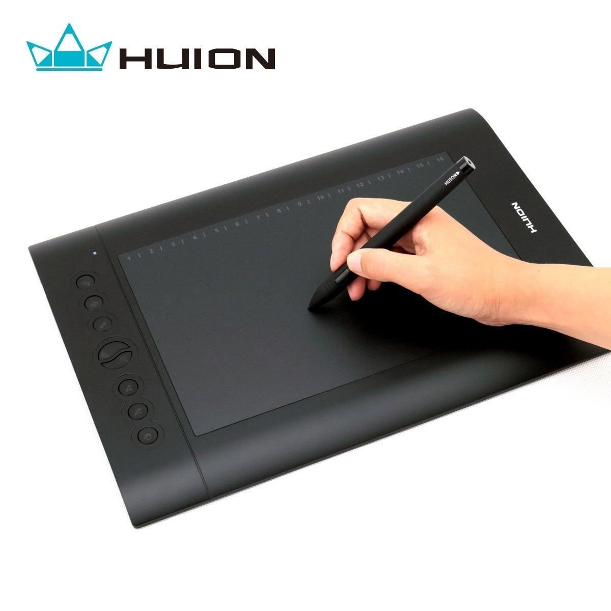 Dr drawing pages on computer - Amazon Com Huion H610pro Painting Drawing Pen Graphics Tablet Computers Accessories