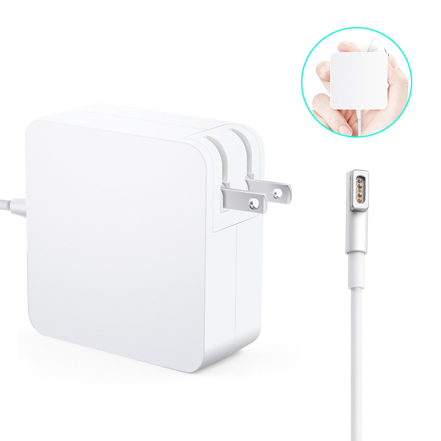 MacBook Pro Charger, Kakivan Mac Charger 85w Magsafe Power Adapter Cord with L-Tip, MacBook Charger 85w Replacement for MacBook Pro 15/17 Inch (Mid2012 Before) by Kakivan (Image #2)
