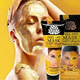 24K Golden Caviar Peel Off mask Anti wrinkle anti aging facial mask face care whitening face masks skin care face lifting firming Masks (Gold Collagen 120g)