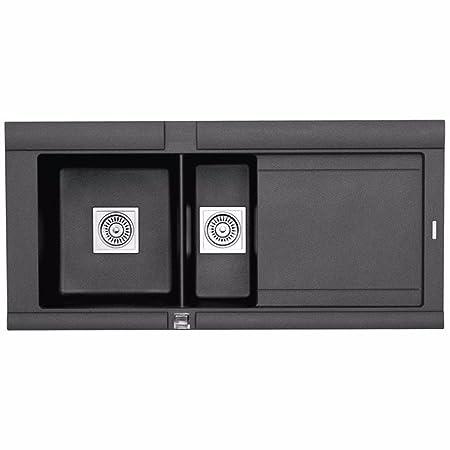 Astracast Geo 1.5 Bowl ROK Granite Volcano Black Kitchen Sink ...