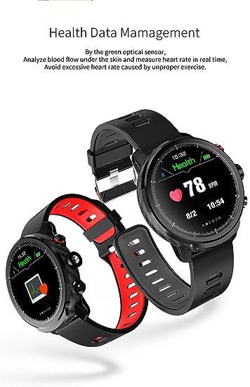 Amazon.com: Ip68 Waterproof smartwatch Support APP Download ...