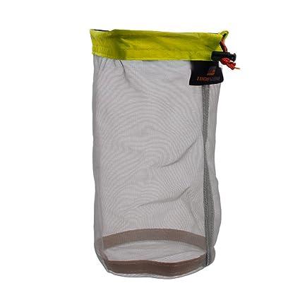 Fendii Bolsa de almacenamiento de malla para chaqueta ultra ligera Saco para enseres para viajar y