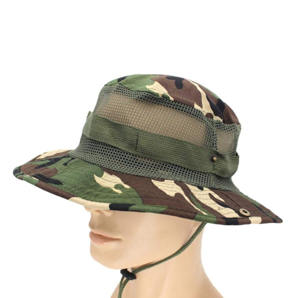 fbe180caa269d OSAYES Military Camouflage Bucket Hats Fishing Fisherman Hunting Men Women  Unisex Adult Sun Protection Hunter Mountain Cap Male Climbing Accessories  ...