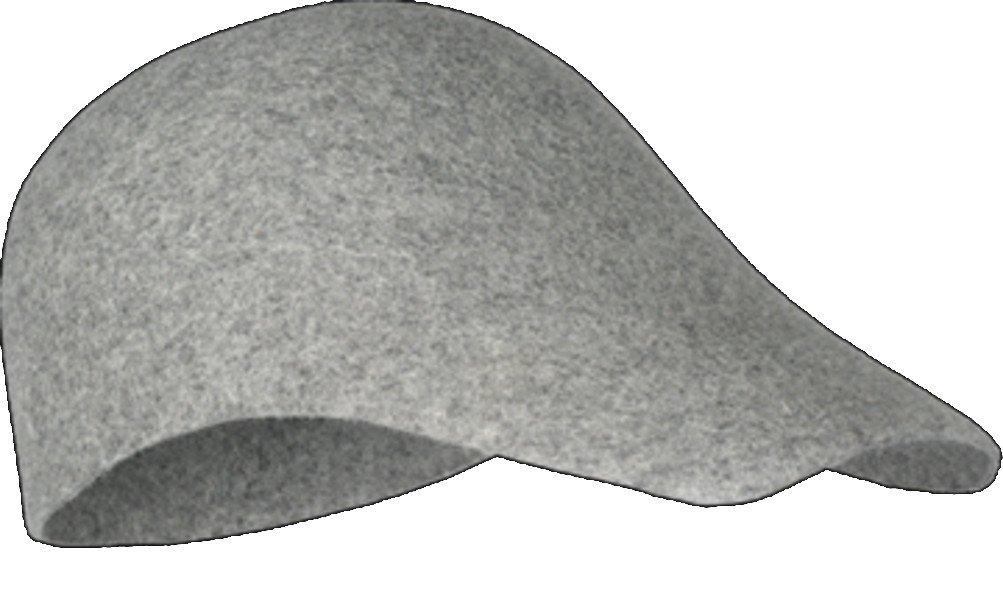Hut   Cap   Mütze  Tomcap, Merinowolle, grau, verschiedene Größen