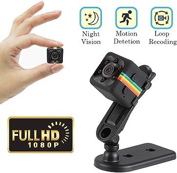 Amazon.com: Cainda - Mini cámara espía Full HD 1080P con ...