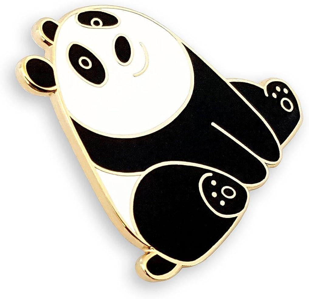 Panda Strife Enamel Pin