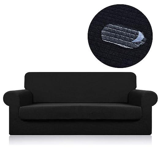 Affei - Funda para sofá de 2 Piezas, Funda Impermeable para ...