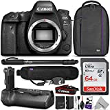 Canon EOS 6D Mark II DSLR Camera Body w/BG-E21 Battery Grip & Complete Photo and Travel Bundle