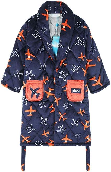 Pijama de Corbata Gruesa de Felpa para Aviones Gruesos para niños ...