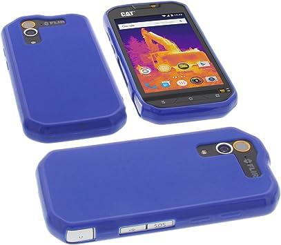 foto-kontor Funda para Cat S60 Protectora de Goma TPU para móvil ...