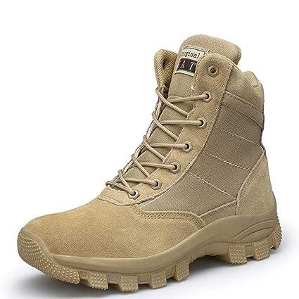 122c1b5f0ee Amazon.com: Giles Jones Men Hiking Boots Desert High-top Non-Slip ...