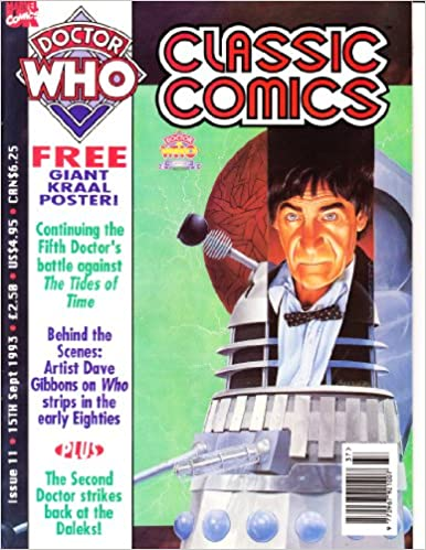 Amazon DOCTOR WHO CLASSIC COMICS 11 Gary Russell Books