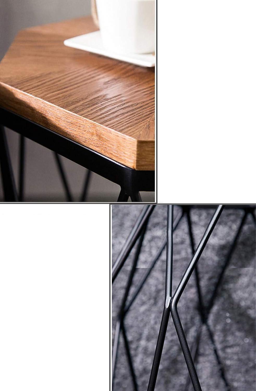 Schoon En Klassiek Salontafel van natuurlijk hout, met Scandinavische bijzettafeltjes, waterdicht, eenvoudige montage, consoletafel, bijzettafel voor woonkamer C gHakF9I