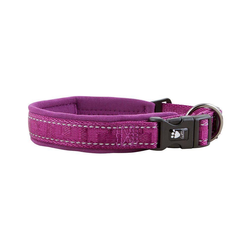 Hurtta Casual Collar Acolchado para Perro, Heather, 16-20 en ...