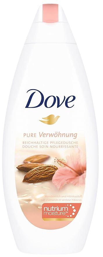 Dove - Gel de ducha Leche de Almendras & Fragancia Hibiskus, pack de 3 x
