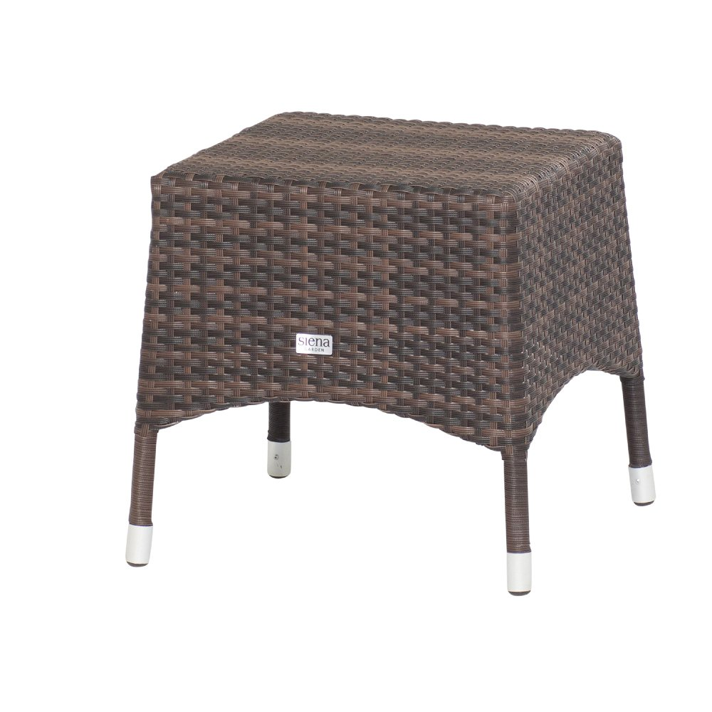 Siena Garden 122900 Hocker Move, bi-color mocca L 45 x B 45 x H 45 cm