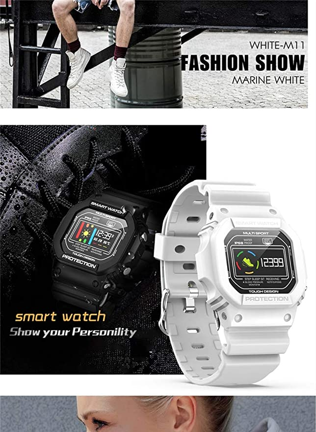 ZLOPV Pulsera Reloj Inteligente para Mujer Sprots Reloj Smartwatch ...