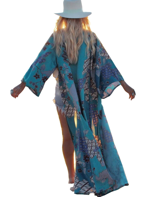 BB&KK 2018 Summer Bikini Bathing Suit Shawl Wrap Top Dress L Size