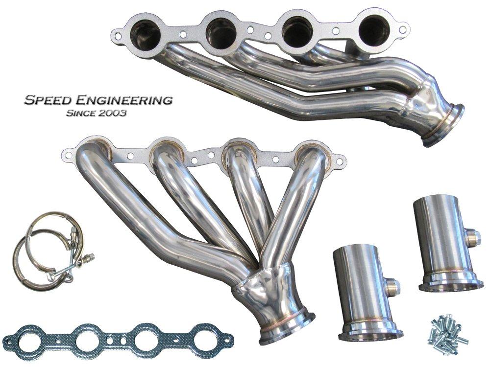 LS Swap S10 Conversion Headers (LS1, LS2, LS3, LS6, LS Engines) Truck & SUV by Speed Engineering