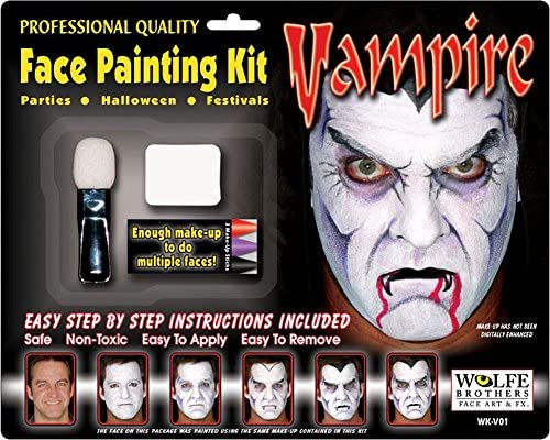 VAMPIRE MAKEUP KIT WOLFE BROS product image