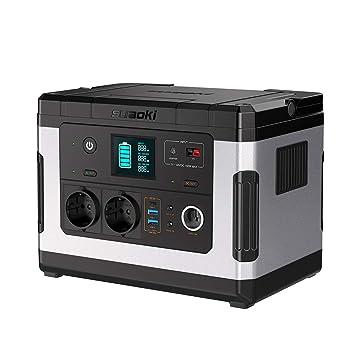 SUAOKI G500 Portable Power Station 500Wh Solargenerator Lithium-Netzteil mit Wechselrichter 300W, 12V DC, 12V Auto, USB/Typ-C
