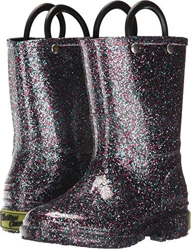 Glitter Rain Boot, Multi, 13 M US Little Kid ()