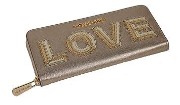 Michael Kors Damen BrieftascheGeldbörse Gold mit Goldener