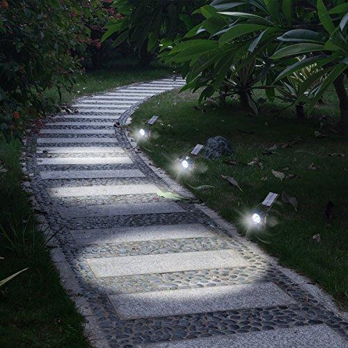 Driveway Solar Lights For Sale: Hoont 2-in-1 Bright Outdoor LED Solar Spotlight / Solar