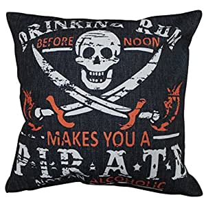 Pillowcases Pirate Skeleton pattern 18x18(inches)