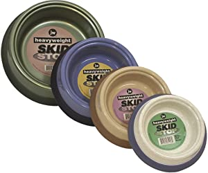 JW Pet Company Heavy Weight Skid Stop Pet Bowl, Jumbo/Large, Colors Vary