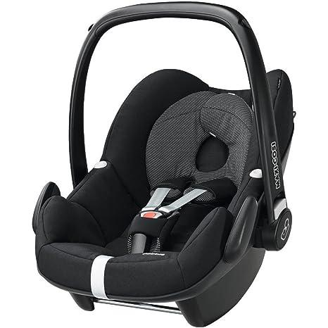 Maxi-Cosi Pebble, Silla de coche grupo 0+ Isofix, negro: Amazon.es: Bebé