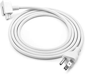 Replacement Power Adapter Extension Cord Wall Cord Cable Compatible for Apple Mac iBook MacBook Pro Air Mini MacBook Power Adapters 45W, 60W, 85W MagSafe 1 or MagSafe 2 Models