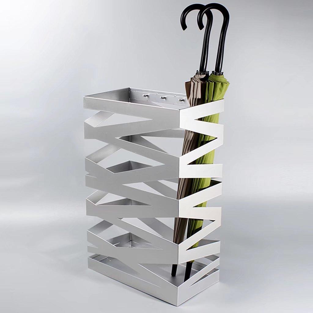 SHOME Porte-parapluie Rangement support Parapluie en Métal Carré au Design Moderne Pour Maison Bureau Hôtel décoration maison-