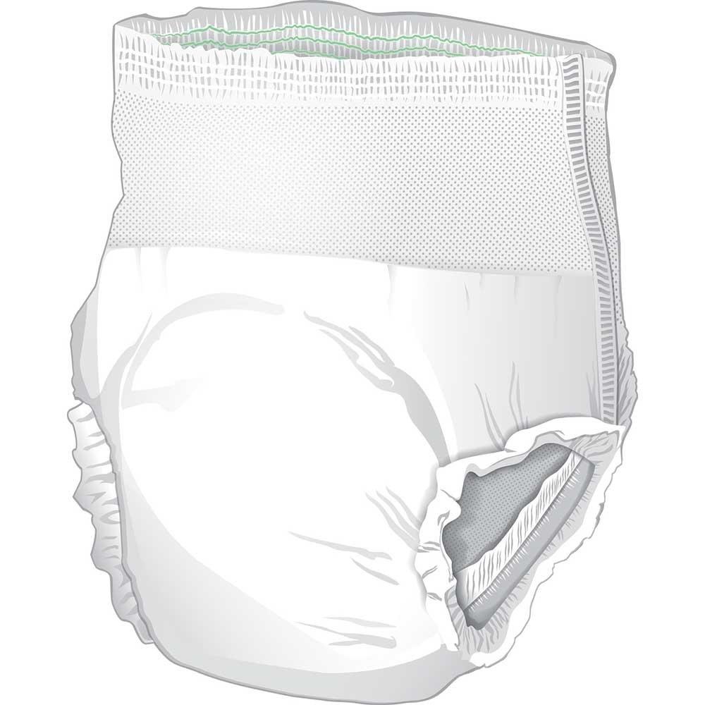 Amazon.com: Presto Supreme FlexRight Underwear, Medium, Pack/18: Health & Personal Care